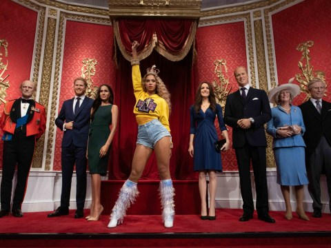 Beyonce takes rightful place in Madame Tussauds as she replaces the Queen