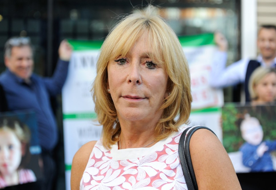 Image ??Licensed to i-Images Picture Agency. 19/09/2019. London, United Kingdom. Medical cannabis vigil. Elaine Levy photographed during the protest outside the Department of Health in Westminster. Families of severely epilectic children protest outside Department of Health, in Westminster, asking for medical cannabis to treat their sick children. Then they will march to 10 Downing Street to deliver handwritten letters with a petition. Picture by Gustavo Valiente / i-Images