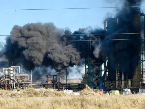 Two casualties confirmed after 'huge explosion' at Redcar steelworks