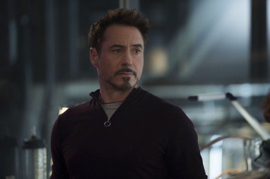 Editorial use only. No book cover usage. Mandatory Credit: Photo by Jay Maidment/Marvel/Walt Disney/Kobal/REX (5886283cz) Robert Downey Jr Avengers - Age Of Ultron - 2015 Director: Joss Whedon Marvel/Walt Disney Pictures USA Scene Still Action/Adventure Avengers: L'?re d'Ultron