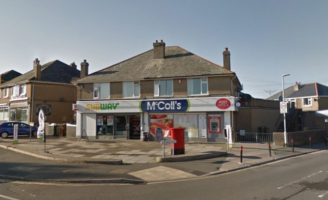 Police are currently investigating an attempted robbery which happened on Tuesday 17 September in Plymouth. The incident took place at a Mccolls shop/post office on Crownhill Road in West Park at approximately 2.45pm.