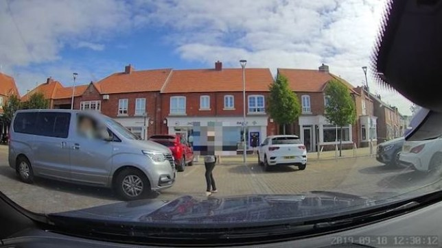 "This is the shocking moment a woman hurls ""racist"" abuse at a Hull man - and it was all over a parking space. Tim Kemp, 47, of??Kingswood, says the grey minivan in the footage was blocking him in the Co-op car park in Kingswood on Wednesday around lunchtime. The driver then moved to let him out and intended to then park in his spot. But a woman then began ""abusing her"" and wanted to take the parking spot. Mr Kemp tried to defend the minivan driver but says he then ""became the target of abuse"" with the woman making ""racist"" comments to him. She is heard to call Mr Kemp, who is Chinese/mixed race, a ""Ch***y c***"". Speaking about what happened, Mr Kemp said: ???The grey minivan was blocking me in so had moved out of my way to let me out of my space. ???She was going to then park in my space when the older woman started abusing her. I did my best to defend the minivan driver but then became the target of the abuse. ???I am British born and raised by white English adoptive parents so consider myself English but am of Chinese/mixed race genetically, and have become quite hardened to the verbal abuse but was shocked by the verbal tirade that came from this woman."""