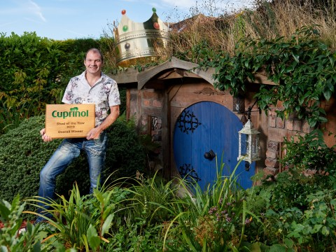 The Shed of the Year 2019 is a Lord of the Rings inspired hobbit hole