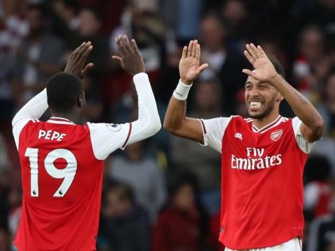 Tim Sherwood slams Arsenal star Pierre-Emerick Aubameyang for letting Nicolas Pepe take penalty