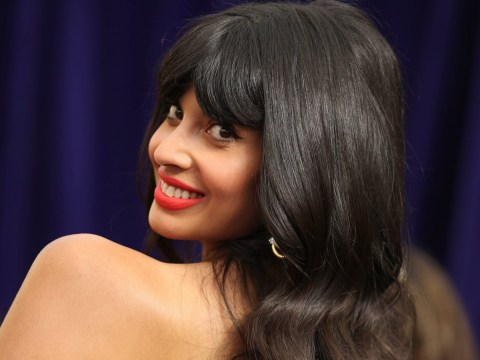 Emmys 2019: Jameela Jamil admits she's in 'dirty' group chat with The Good Place co-stars