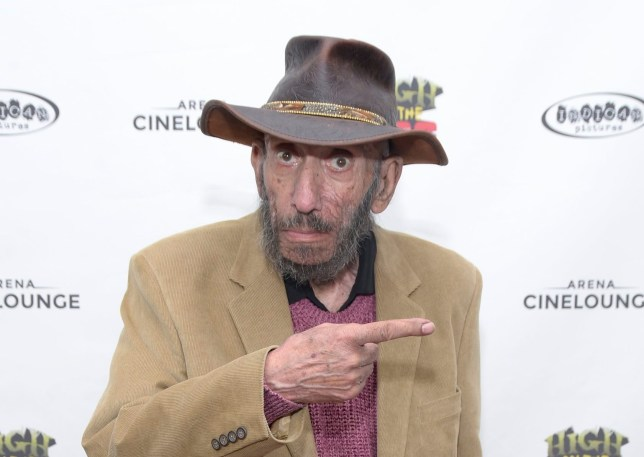 House of 1000 Corpses star Sid Haig in April 2019