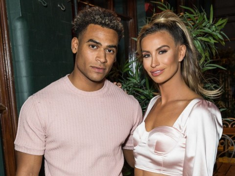 How long has Ferne McCann been dating Jordan Hames and who is her daughter's father?