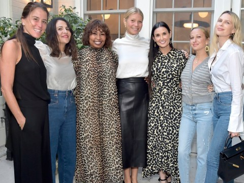 Demi Moore supported by Gwyneth Paltrow and Kate Hudson as she opens up on rape in honest memoir