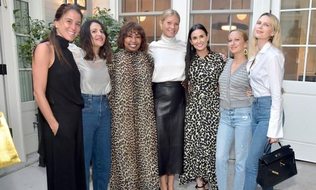 Gwyneth Paltrow, Demi Moore, Kate Hudson, Liv Tyler