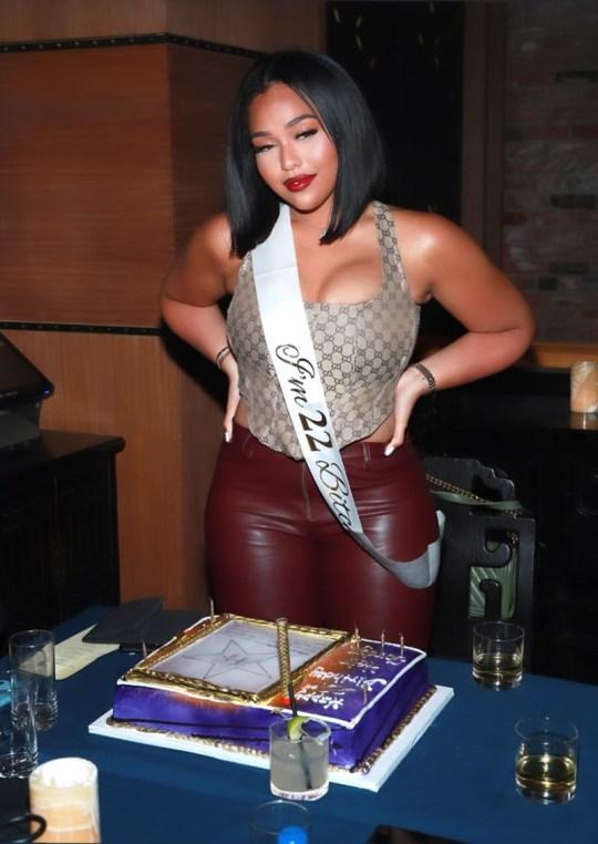 Jordyn Woods celebrates her birthday