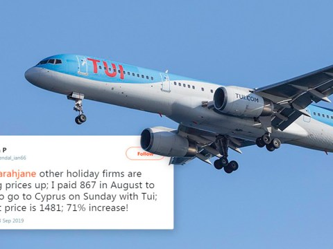 Tui joins Jet2 and Ryanair in 'hiking prices' after Thomas Cook collapse