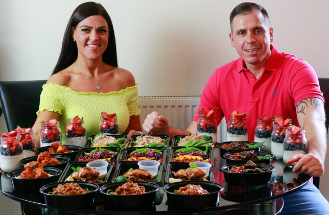 Couple Lose 15 Stone Between Them By Batch Cooking Meals For
