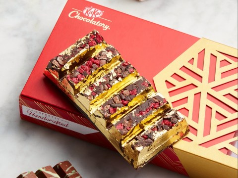 KitKat launches £25 real gold luxury handmade bars