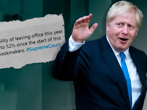Bookies slash odds on Boris Johnson leaving office this year