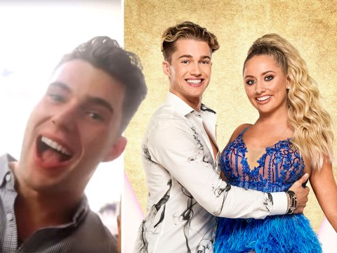 Love Island's Curtis Pritchard channels inner Strictly judge as he critiques Saffron Barker and AJ's tango