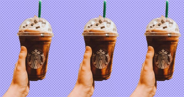 Christmas Starbucks Drinks 2019.How To Order Jack And Sally Frappuccinos From The Starbucks