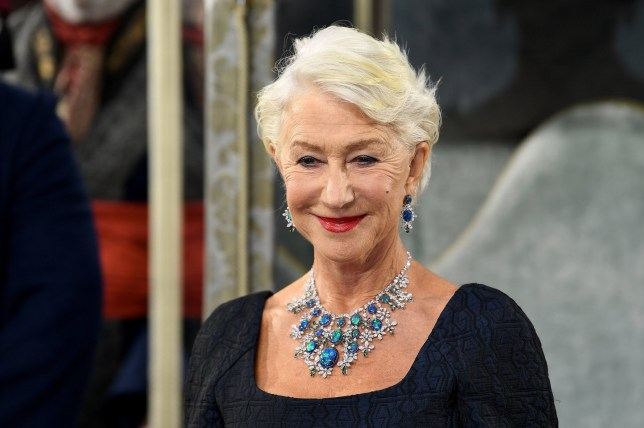 Dame Helen Mirren attending the Catherine the Great screening at Curzon Theatre, Mayfair, London. PA Photo. Picture date: Wednesday September 25, 2019. See PA story SHOWBIZ Catherine. Photo credit should read: Scott Garfitt/PA Wire.