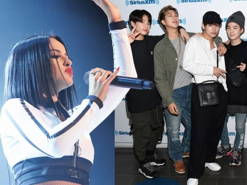 BTS may just have confirmed an upcoming collaboration with Becky G and fans are so here for it