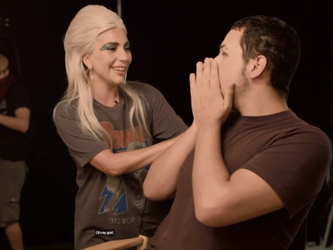 Lady Gaga breaks down in tears after surprising a superfan who says she changed his life