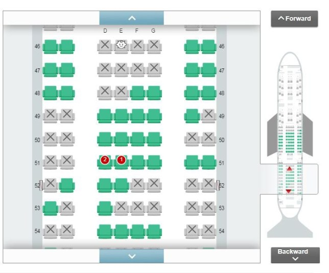 Japan Airlines lets passengers choose where to sit so they're away from babies