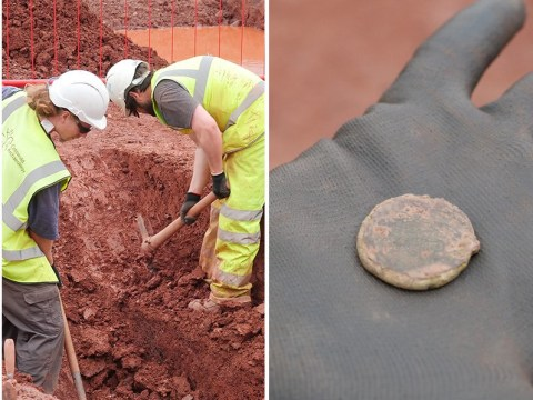 Roman fort accidentally discovered under bus station