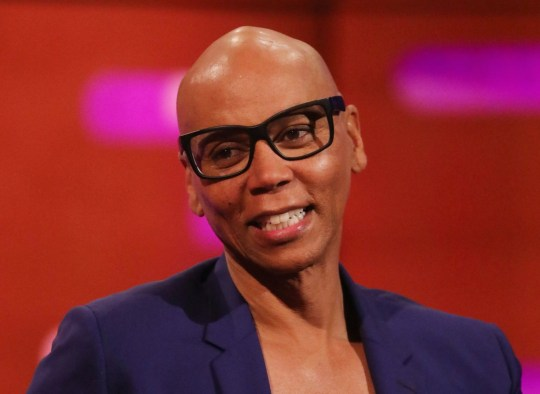 RuPaul during the filming for the Graham Norton Show at BBC Studioworks 6 Television Centre, Wood Lane, London, to be aired on BBC One on Friday evening. PRESS ASSOCIATION Photo. Picture date: Thursday September 26, 2019. Photo credit should read: PA Images on behalf of So TV