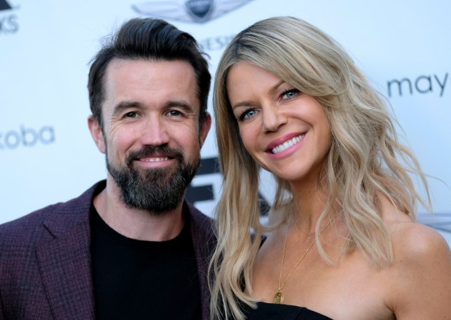 LOS ANGELES, CA - SEPTEMBER 16: Rob McElhenney and Kaitlin Olson attend the FX And Vanity Fair Emmy Celebration at CRAFT LA on September 16, 2018 in Los Angeles, California. (Photo by Matthew Simmons/FilmMagic)