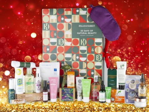 Holland & Barrett launches advent calendar filled with natural goodies worth £146