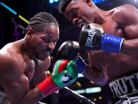 Errol Spence Jr and Shawn Porter involved in heated argument after Texan wins unification fight