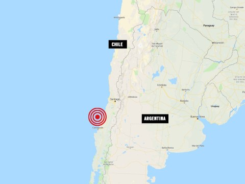 Massive 6.8 magnitude earthquake strikes off the coast of Chile