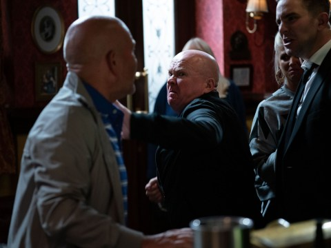 EastEnders fans rejoice as Phil Mitchell decks Jonno Highway for 'f*ggot' slur against Callum