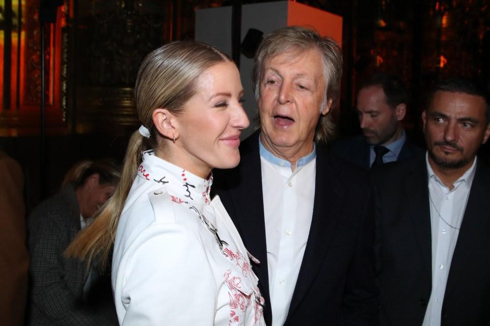 Ellie Goulding and Paul McCartney