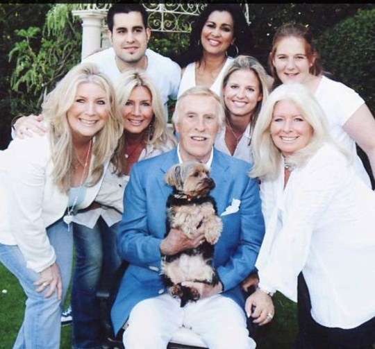 Bruce Forsyth, Debbie Matthews and family