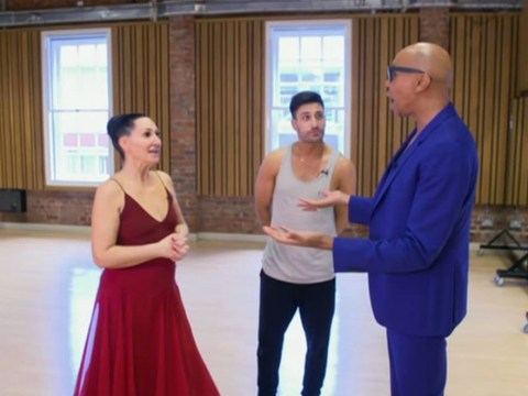 Strictly's Michelle Visage supported by BFF RuPaul and it's the crossover we needed