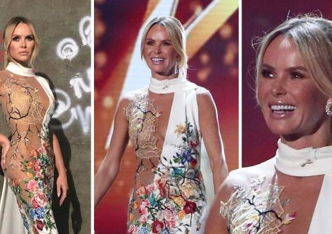 Amanda Holden won't stop wearing skimpy outfits on TV: 'If J-Lo's still doing it, so am I'