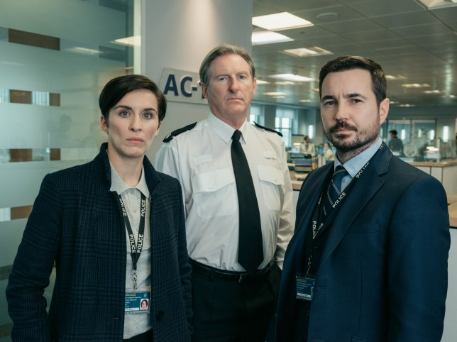 Line Of Duty will end when TV bosses say so claims Martin Compston
