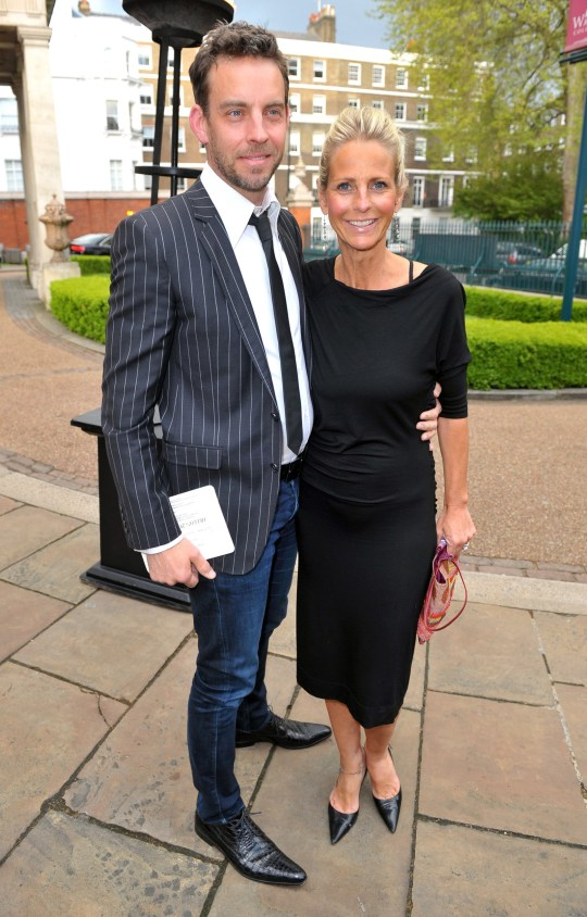 Hello! Magazine 25th Birthday Party- Outside Arrivals Featuring: Ulrika Jonsson, Brian Monet Where: London, United Kingdom When: 15 May 2013 Credit: Richfoto/WENN.com