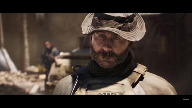 Call Of Duty: Modern Warfare's Captain Price