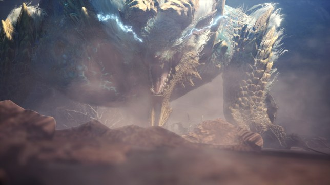 Monster Hunter World: Iceborne - that's a big dragon