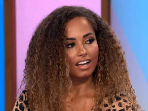 Love Island's Amber Gill claims Greg O'Shea did dump her by text as she makes first TV appearance since split