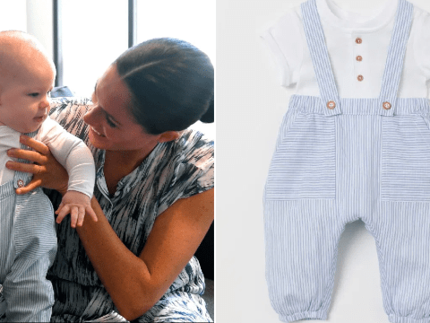 Baby Archie wears £12.99 H&M dungarees on tour with dad Prince Harry and mum Meghan Markle