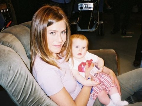 Friends: Baby Emma star shares adorable behind-the-scenes photos with on-screen mother Jennifer Aniston