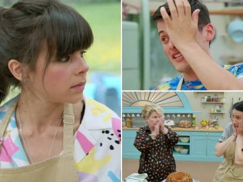 When you have a Bake Off disaster, the GBBO tent is a lonely place