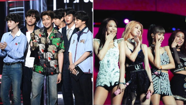 BTS and BLACKPINK score multiple nominations at People's