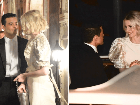 Rami Malek and Lucy Boynton are all kinds of loved up in Venice