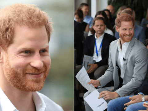 Prince Harry says he only takes private jets with Meghan Markle to 'protect my family'