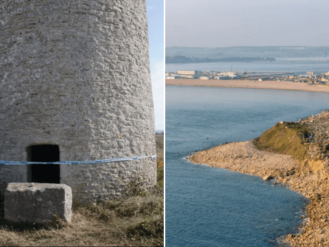 Girl, 11, 'raped in disused windmill' as man, 18 arrested