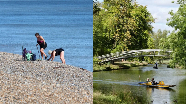 Britain to get final blast of heat as summer ends with 25C sunshine