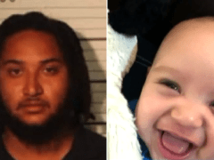 Dad 'stabbed his own baby to death because he didn't want to pay child support'
