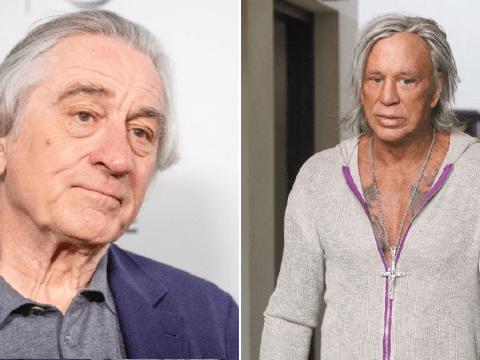 Mickey Rourke reveals secret '30-year feud' with Robert De Niro that got him 'barred' from film